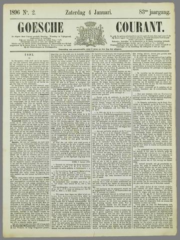 Goessche Courant 1896-01-04