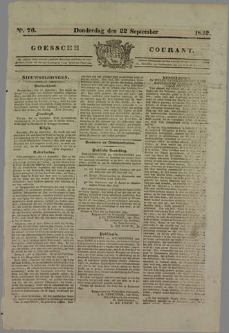 Goessche Courant 1842-09-22