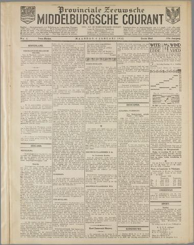 Middelburgsche Courant 1932-01-04