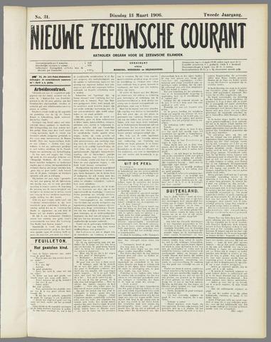 Nieuwe Zeeuwsche Courant 1906-03-13