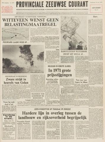 Provinciale Zeeuwse Courant 1970-06-25