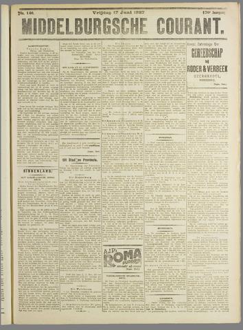 Middelburgsche Courant 1927-06-17