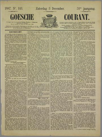 Goessche Courant 1887-12-03