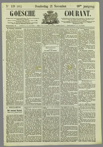 Goessche Courant 1912-11-21