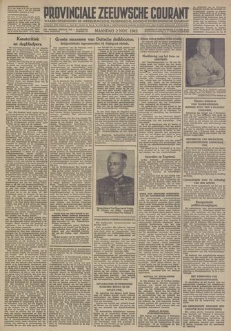 Provinciale Zeeuwse Courant 1942-11-02