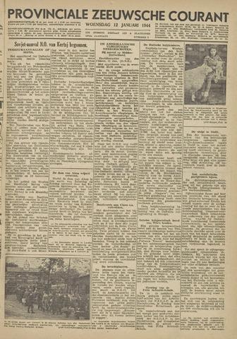 Provinciale Zeeuwse Courant 1944-01-12