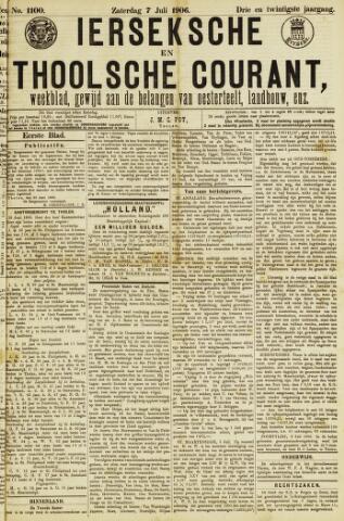 Ierseksche en Thoolsche Courant 1906-07-07