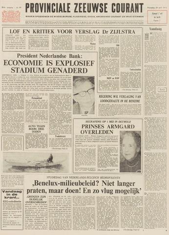 Provinciale Zeeuwse Courant 1971-04-28