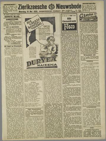 Zierikzeesche Nieuwsbode 1925-05-18