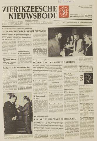 Zierikzeesche Nieuwsbode 1973-02-09