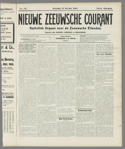 Nieuwe Zeeuwsche Courant 1905-10-28