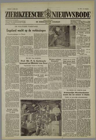 Zierikzeesche Nieuwsbode 1955-04-15