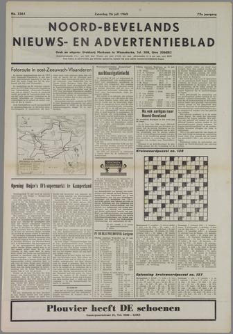 Noord-Bevelands Nieuws- en advertentieblad 1969-07-26