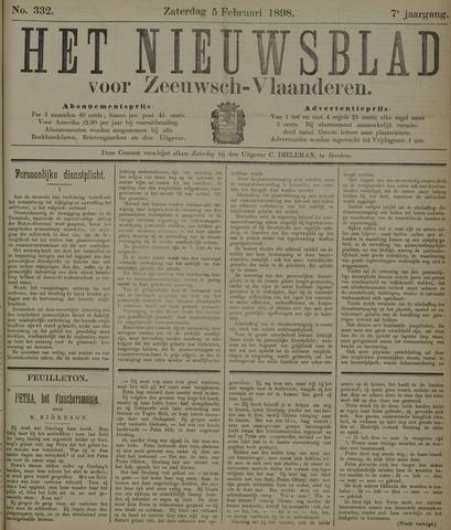 Nieuwsblad voor Zeeuwsch-Vlaanderen 1898-02-05