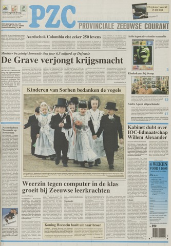 Provinciale Zeeuwse Courant 1999-01-26