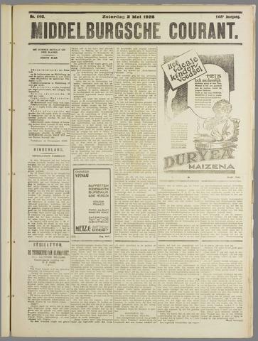 Middelburgsche Courant 1925-05-02