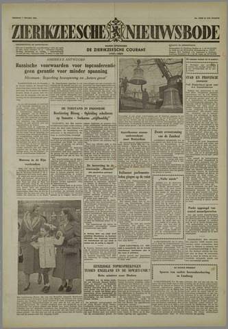 Zierikzeesche Nieuwsbode 1958-03-07