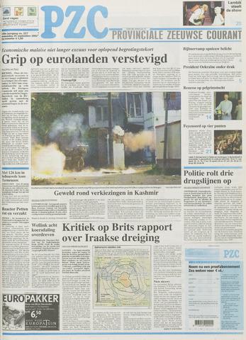 Provinciale Zeeuwse Courant 2002-09-25