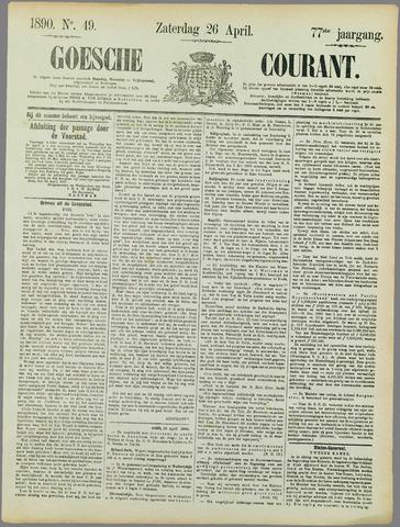 Goessche Courant 1890-04-26