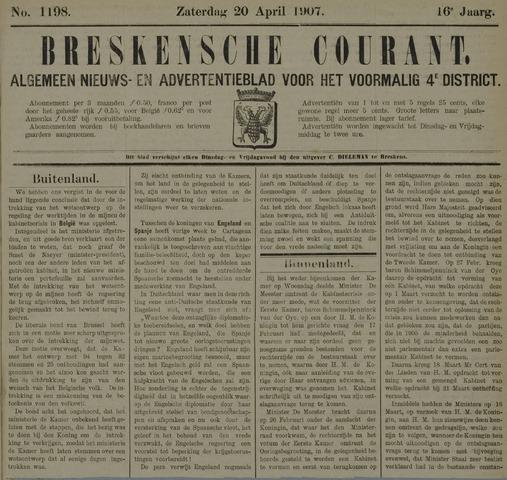 Breskensche Courant 1907-04-20
