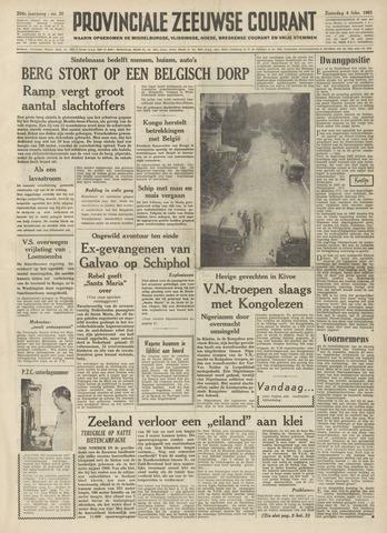 Provinciale Zeeuwse Courant 1961-02-04