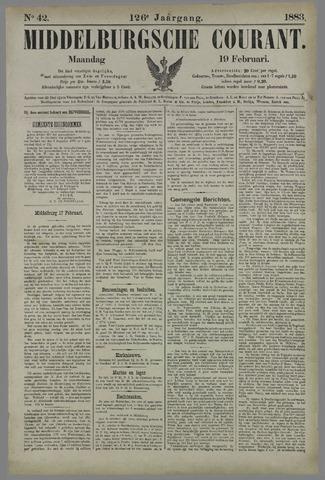 Middelburgsche Courant 1883-02-19