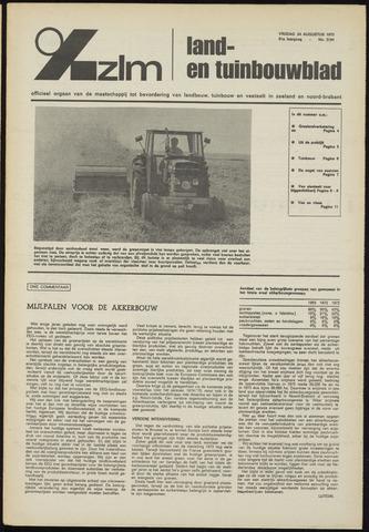 Zeeuwsch landbouwblad ... ZLM land- en tuinbouwblad 1973-08-24