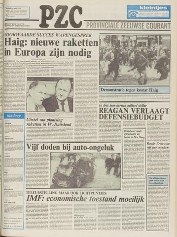 Provinciale Zeeuwse Courant 1981-09-14