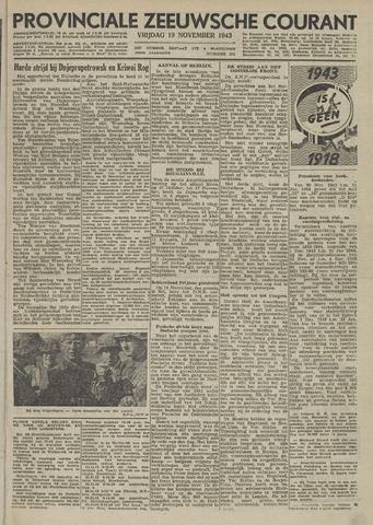 Provinciale Zeeuwse Courant 1943-11-19