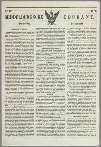 Middelburgsche Courant 1871-01-26