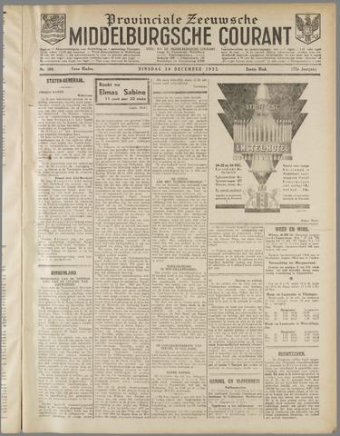 Middelburgsche Courant 1932-12-20