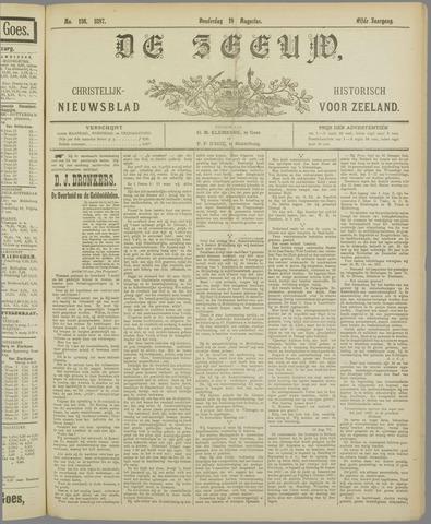 De Zeeuw. Christelijk-historisch nieuwsblad voor Zeeland 1897-08-19