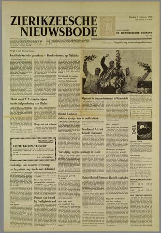 Zierikzeesche Nieuwsbode 1970-02-03