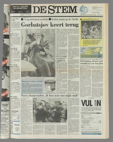 de Stem 1991-08-22