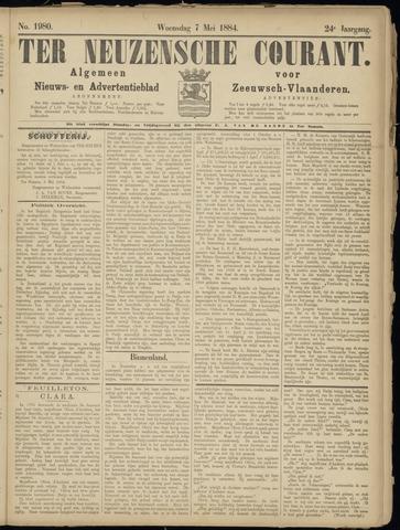 Ter Neuzensche Courant. Algemeen Nieuws- en Advertentieblad voor Zeeuwsch-Vlaanderen / Neuzensche Courant ... (idem) / (Algemeen) nieuws en advertentieblad voor Zeeuwsch-Vlaanderen 1884-05-07