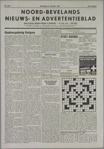 Noord-Bevelands Nieuws- en advertentieblad 1985-11-21