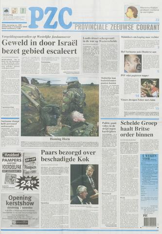 Provinciale Zeeuwse Courant 2000-11-02