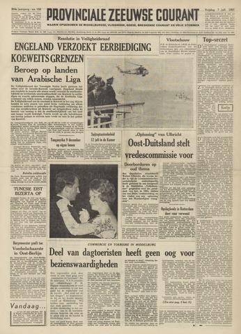 Provinciale Zeeuwse Courant 1961-07-07