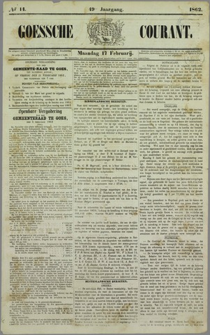 Goessche Courant 1862-02-17