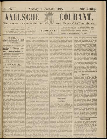 Axelsche Courant 1907