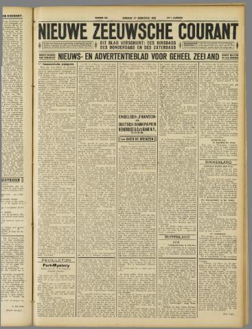 Nieuwe Zeeuwsche Courant 1929-08-27