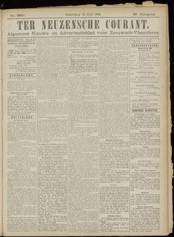 Ter Neuzensche Courant. Algemeen Nieuws- en Advertentieblad voor Zeeuwsch-Vlaanderen / Neuzensche Courant ... (idem) / (Algemeen) nieuws en advertentieblad voor Zeeuwsch-Vlaanderen 1919-07-19