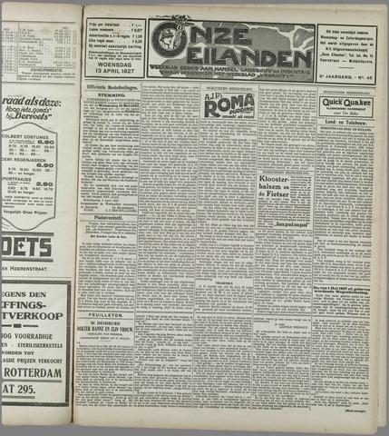 Onze Eilanden 1927-04-13