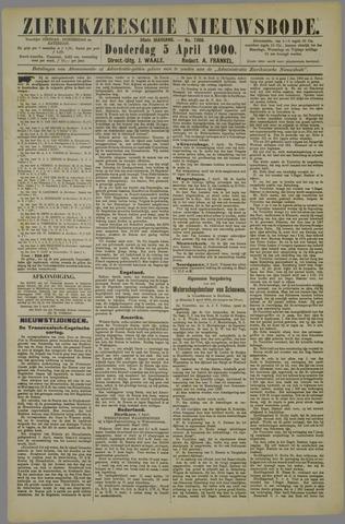 Zierikzeesche Nieuwsbode 1900-04-05