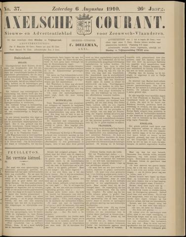 Axelsche Courant 1910-08-06