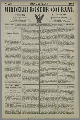 Middelburgsche Courant 1884-12-17
