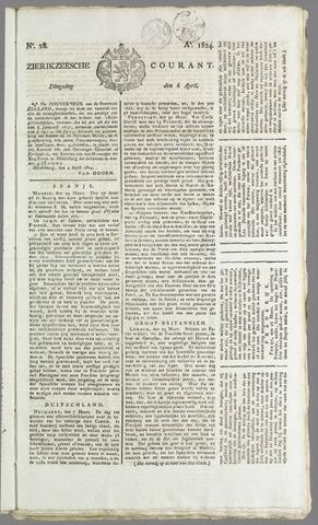 Zierikzeesche Courant 1824-04-06