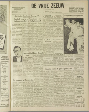 de Vrije Zeeuw 1960-07-28