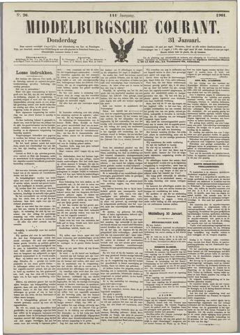 Middelburgsche Courant 1901-01-31