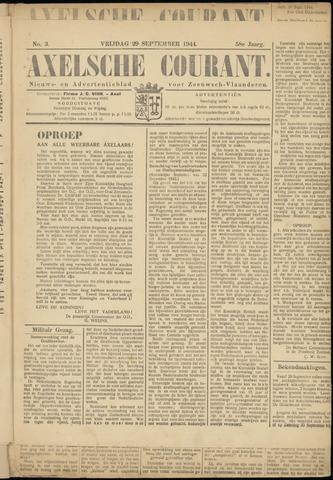 Axelsche Courant 1944-09-29
